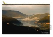 Lake And Town, Umbria, Italy Carry-all Pouch