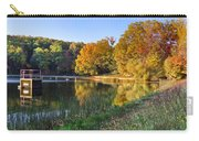 Lake At Chilhowee Carry-all Pouch by Debra and Dave Vanderlaan