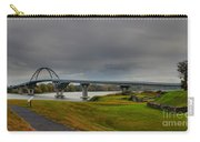 Lake Champlain Bridge Panorama From Crown Point Carry-all Pouch