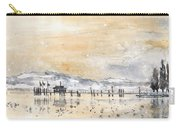 Lake Constance In Winter Carry-all Pouch