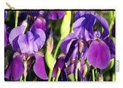 Lake Country Irises Carry-all Pouch