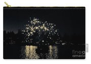 Lake Fireworks Carry-all Pouch by Susan Garren