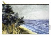 Lake From The Dunes Carry-all Pouch