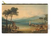 Lake Geneva And Mount Blanc Carry-all Pouch