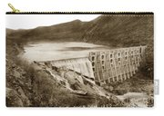 Lake Hodges And Dam San Diego County California  1952 Carry-all Pouch