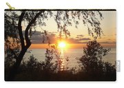 Lake Huron Setting Sun Carry-all Pouch