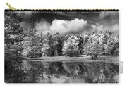 Lake In Black And White One Carry-all Pouch