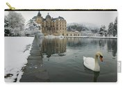 Lake In Front Of A Chateau, Chateau De Carry-all Pouch
