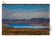 Lake Laberge And Surrounding Taiga In Fall Carry-all Pouch
