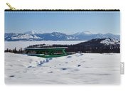 Lake Laberge Yukon Territory Canada In Winter Carry-all Pouch