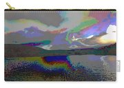 Lake Land And Sky Digitally Painted Photograph Taken Around Poconos  Welcome To The Pocono Mountains Carry-all Pouch