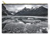 Lake Louise - Black And White #2 Carry-all Pouch