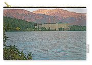 Lake Louise Chateau At Sunset In Banff Np-alberta Carry-all Pouch
