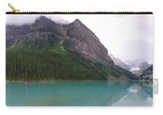 Panoramic Lake Louise, Alberta - Morning Reflections Carry-all Pouch