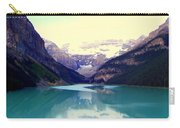 Lake Louise Stillness Carry-all Pouch by Karen Wiles