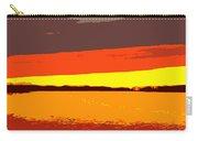 Lake Macatawa Sunset Carry-all Pouch