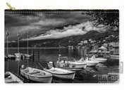 Lake Maggiore Ascona Bw Carry-all Pouch