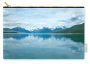 Lake Mcdonald Reflection In Glacier  National Park-montana Carry-all Pouch