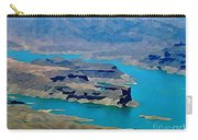 Lake Mead Aerial Shot Carry-all Pouch