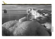 Lake Michigan Ice X Carry-all Pouch