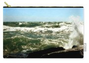 Lake Michigan In An Angry Mood Carry-all Pouch