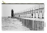 Lake Michigan Lighthouse Carry-all Pouch