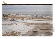 Lake Michigan Lighthouse Kewaunee Wisconsin Carry-all Pouch