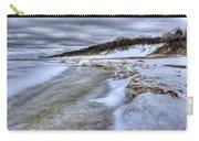 Lake Michigan Shelf Ice Carry-all Pouch