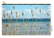 Lake Michigan Shore Grasses Carry-all Pouch