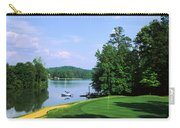 Lake On A Golf Course, Legend Course Carry-all Pouch