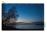 Lake Ontario Blue Hour Carry-all Pouch