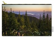 140701a-042 Lake Pend Oreille From The Cabinets Carry-all Pouch