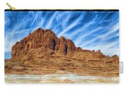 Lake Powell Rocks Carry-all Pouch by Ayse Deniz