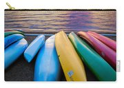 Lake Quinault Kayaks Carry-all Pouch by Inge Johnsson