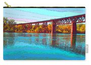 Lake Redding Ca Digital Painting Carry-all Pouch