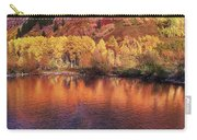 Lake Reflection In Fall 2 Carry-all Pouch