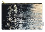 Lake Ripples In Blue At Sunset Carry-all Pouch