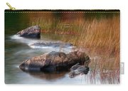 Lake Rocks And Grass Carry-all Pouch
