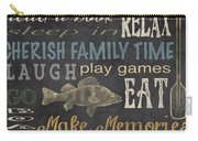 Lake Rules-relax Carry-all Pouch