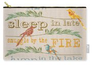 Lake Rules With Birds-c Carry-all Pouch