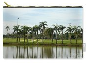 Lake Sand Traps Palm Trees And Golf Course Singapore Carry-all Pouch