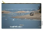 Lake Superior And Ice Carry-all Pouch