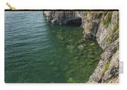 Lake Superior Cliff Scene 9 Carry-all Pouch
