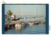 View Of The Harbor Carry-all Pouch