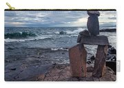 Show Me The Way - Lake Superior Rock Stack Carry-all Pouch