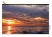 Lake Superior Sunset Panorama Carry-all Pouch