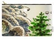 Lake Tahoe - California Sketchbook Project Carry-all Pouch by Irina Sztukowski