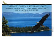 Lake Tahoe Eagle Proverbs Carry-all Pouch