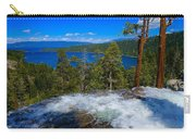 Lake Tahoe Waterfall Carry-all Pouch