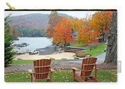 Lake Toxaway Marina In The Fall Carry-all Pouch